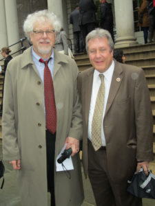 CASES' CEO Joel Copperman and New York City Council member Danny Dromm