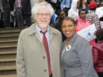 CASES' CEO Joel Copperman and New York City Council member Letitia James