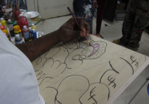 CASES participant drawing