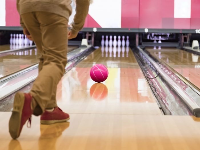 next steps youth go bowling with community police officers cases